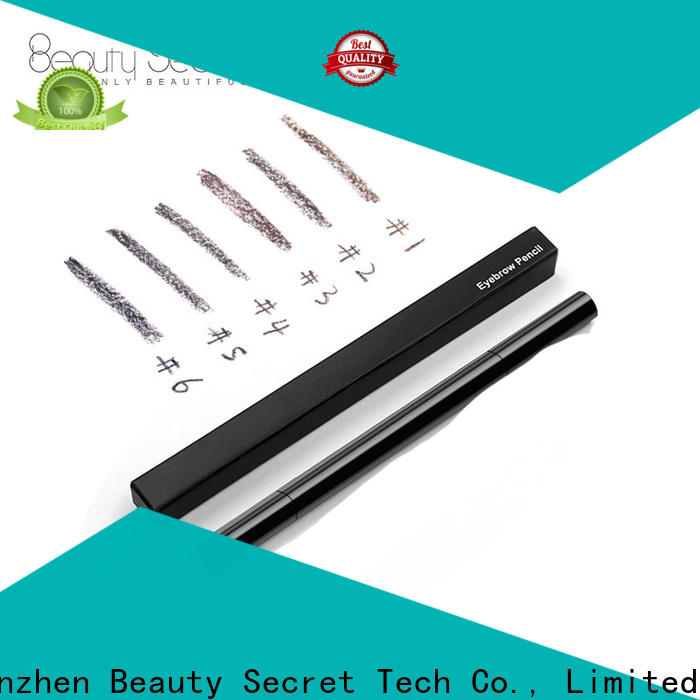 Beauty Secret Cosmetics fashion eyebrow pen with eyebrow makeup brushes for makeup