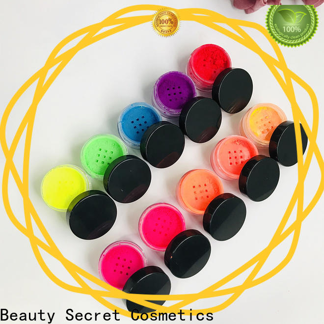 Beauty Secret Cosmetics fluorescent good eyeshadow palettes powder fast delivery