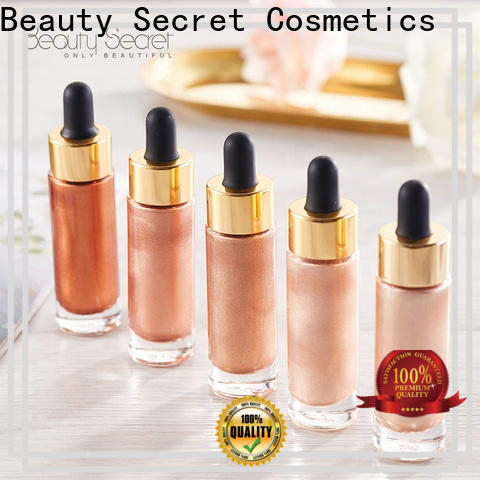 moisturizing face highlighter powder for beauty