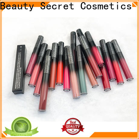 Beauty Secret Cosmetics perfect beauty lipstick with mirror for women