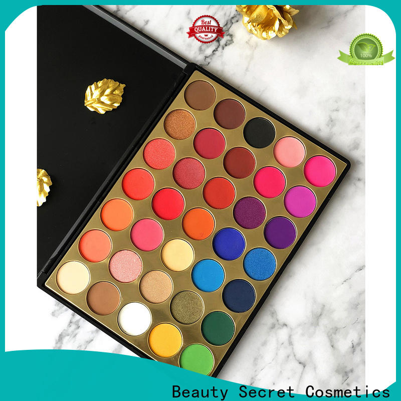 neon good eyeshadow palettes with mirror for sale
