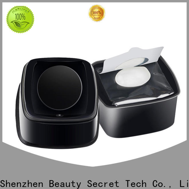 Beauty Secret Cosmetics glitter makeup remover wipe manufacturer for makeup