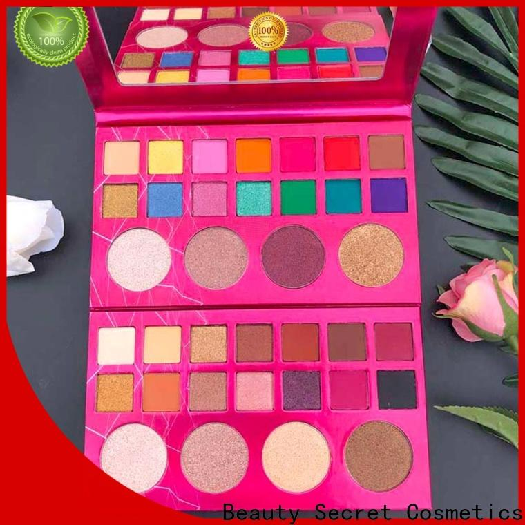 Beauty Secret Cosmetics new eyeshadow palettes powder fast delivery