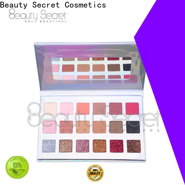 Beauty Secret Cosmetics quicksand new eyeshadow palettes powder for ladies