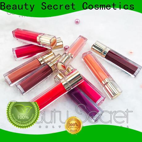 Beauty Secret Cosmetics custom lip gloss supplier for makeup