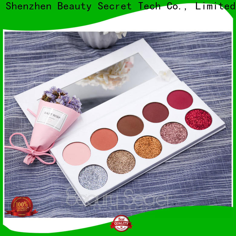 Beauty Secret Cosmetics quicksand glitter eye makeup with custom logo for ladies