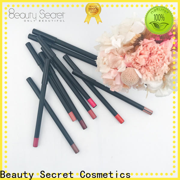 Beauty Secret Cosmetics lipstick making with mirror for women