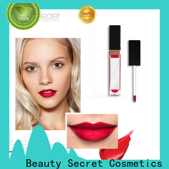 Beauty Secret Cosmetics oem private label lipstick organic moisturizing lipstick for women