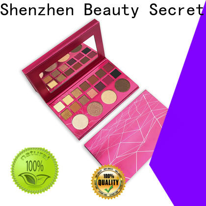 Beauty Secret Cosmetics glitter good eyeshadow palettes with custom logo fast delivery