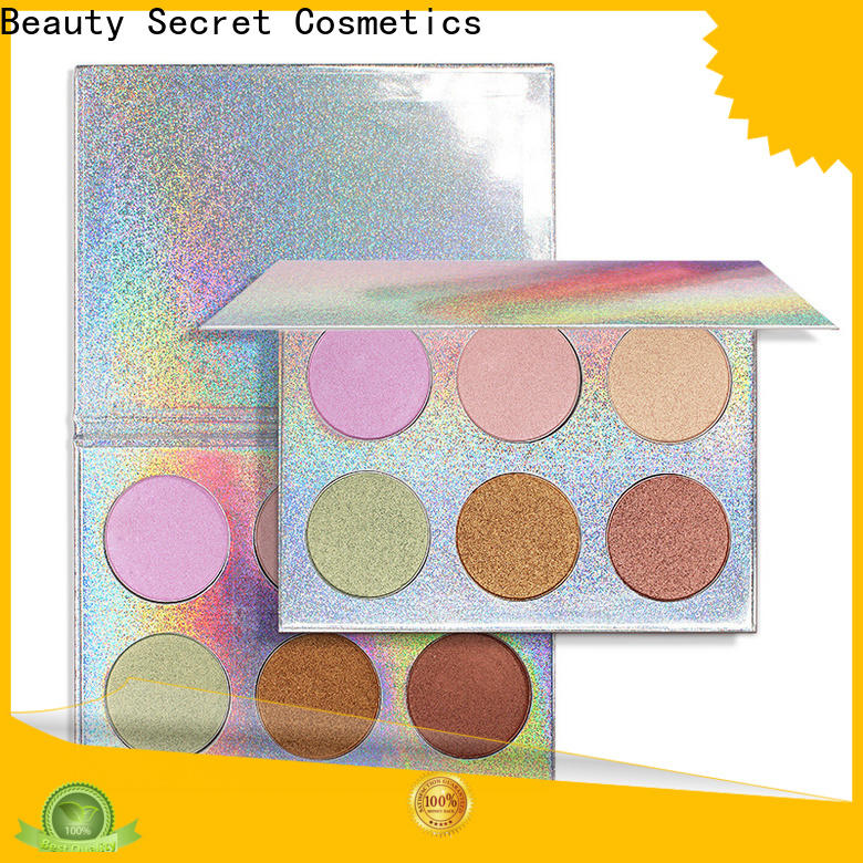 Beauty Secret Cosmetics long lasting natural highlighter with gold cap for beauty