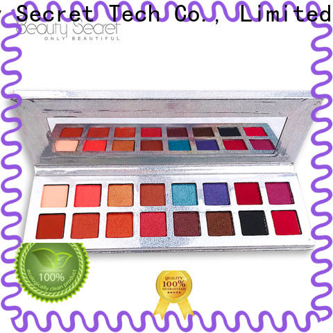 Beauty Secret Cosmetics new eyeshadow palettes with mirror fast delivery