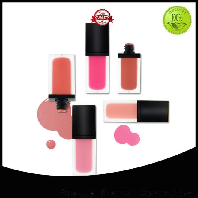 Beauty Secret Cosmetics pigmented blusher kit palette for makeup