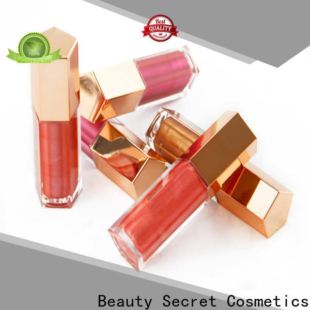 Beauty Secret Cosmetics mineral lip gloss shimmer supplier wholesale