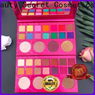 plastic new eyeshadow palettes powder for makeup