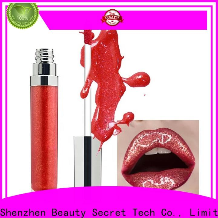 waterproof moisturizing lip gloss with your own logo for sale