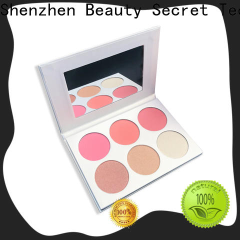 shiny blusher palette face liquid blush for sale