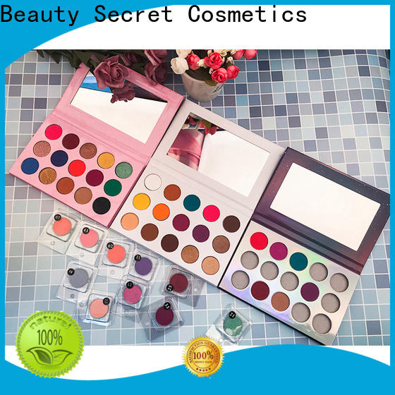 Beauty Secret Cosmetics single natural eyeshadow with mirror for makeup