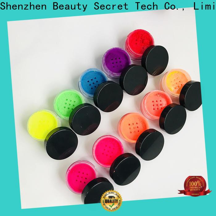 Beauty Secret Cosmetics free bright eyeshadow palette powder fast delivery