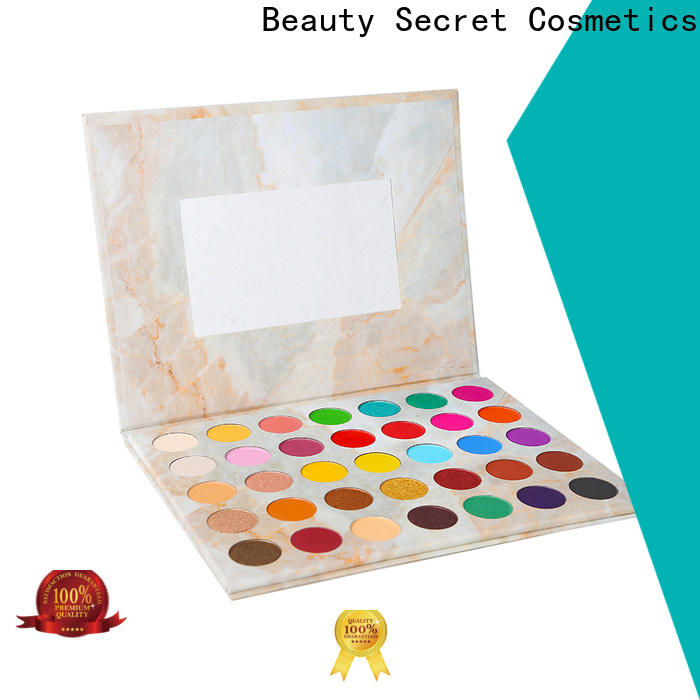 fluorescent shimmer eyeshadow palette with custom logo fast delivery