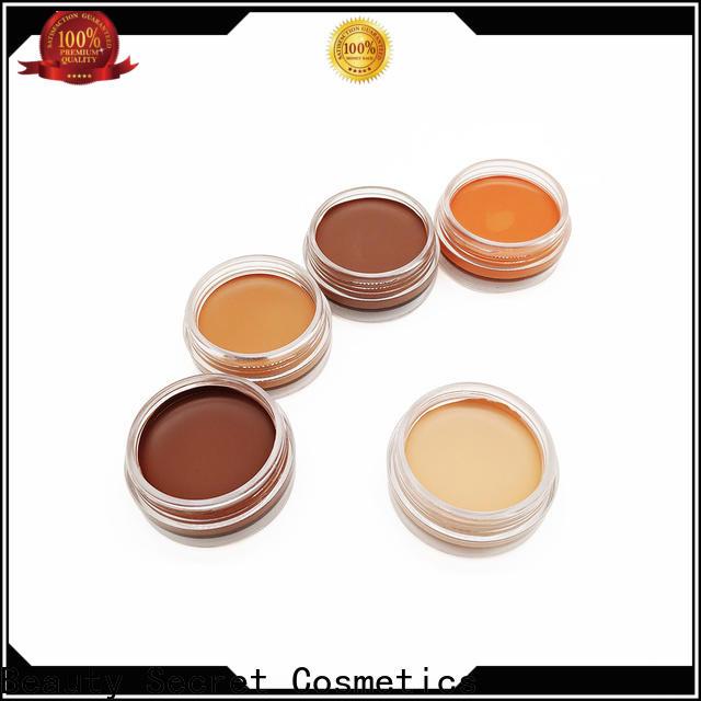 Beauty Secret Cosmetics powder foundation cosmetics with mirror for beauty