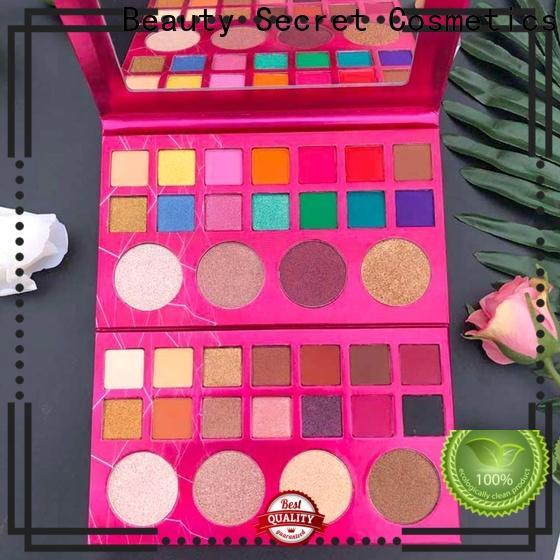 Beauty Secret Cosmetics cosmetics eyeshadow with custom logo for sale