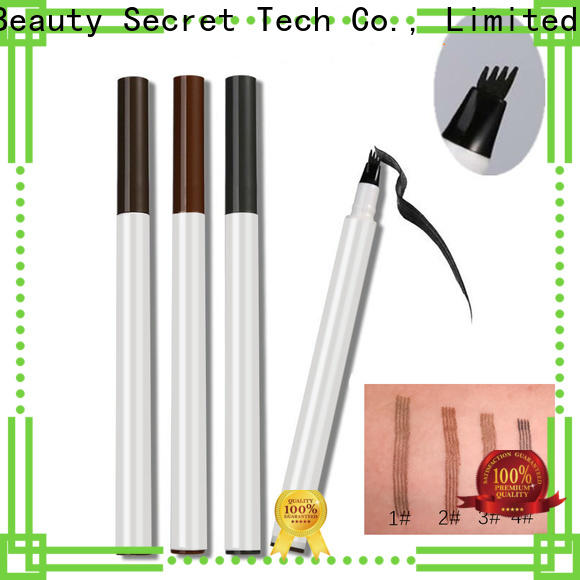Beauty Secret Cosmetics eyebrow gel with eyebrow makeup brushes for beauty