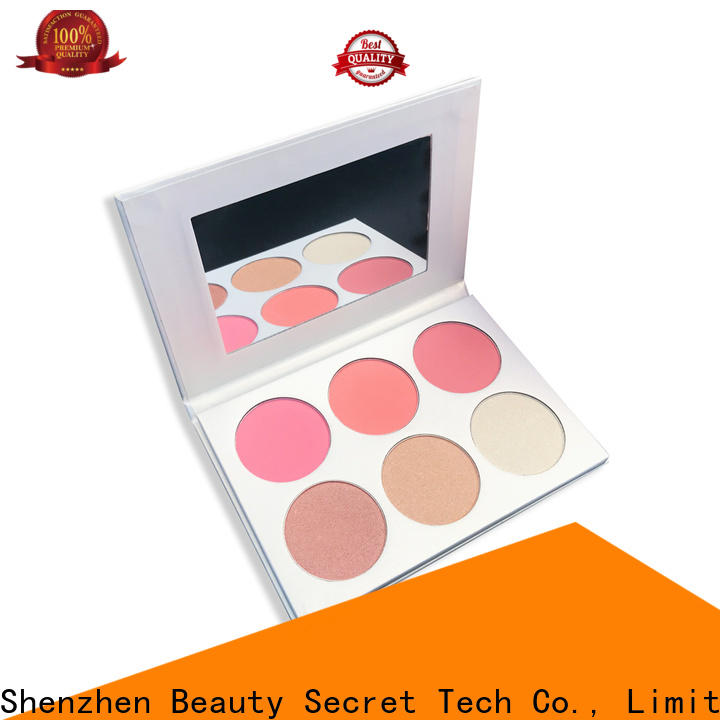 beautiful blusher palette manufacturer for makeup