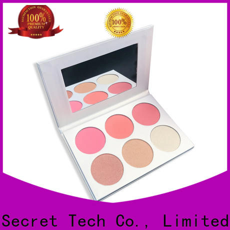 Beauty Secret Cosmetics blusher palette private label fast delivery