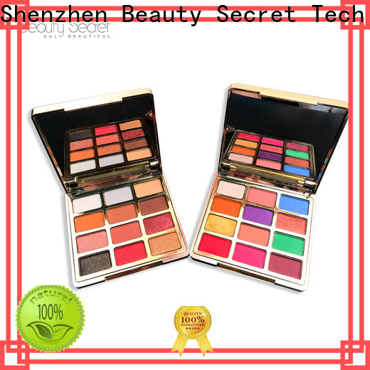 Beauty Secret Cosmetics shimmer wholesale eyeshadow powder fast delivery