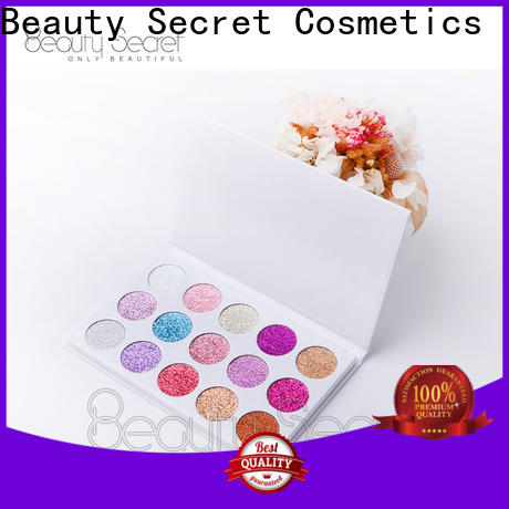 Beauty Secret Cosmetics wholesale eyeshadow with mirror fast delivery