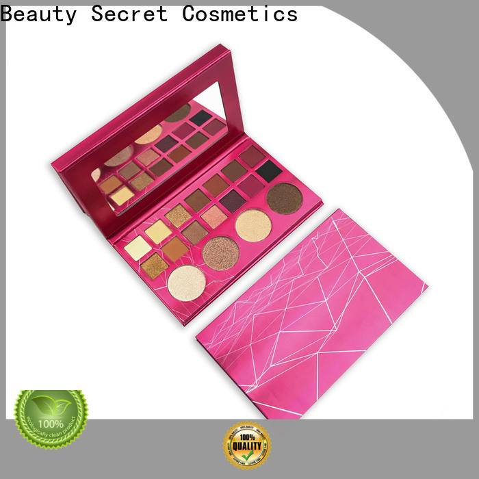 oem wholesale eyeshadow with mirror for makeup