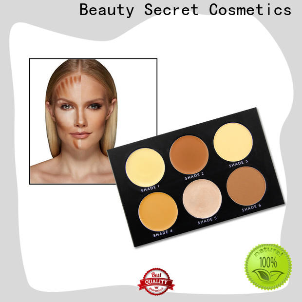 cosmetic liquid foundation palette for beauty