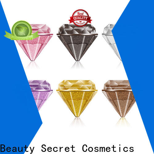 Beauty Secret Cosmetics marble bright eyeshadow palette powder for makeup