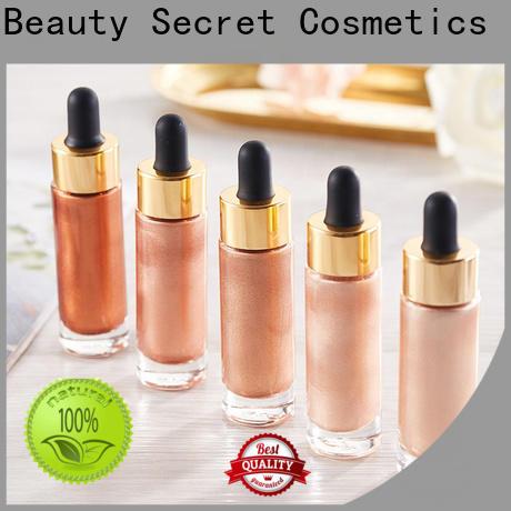 Beauty Secret Cosmetics logo natural highlighter palette for sale