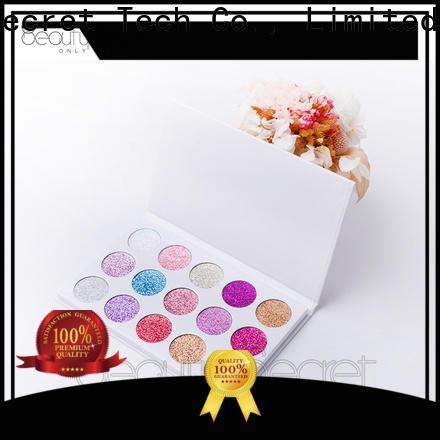 Beauty Secret Cosmetics new eyeshadow palettes with custom logo for sale