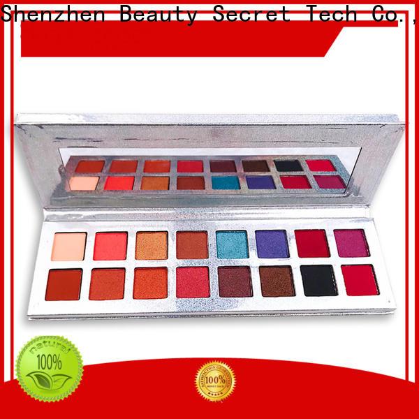Beauty Secret Cosmetics wholesale eyeshadow powder fast delivery