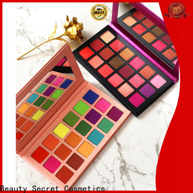 Beauty Secret Cosmetics new eyeshadow palettes with mirror for sale