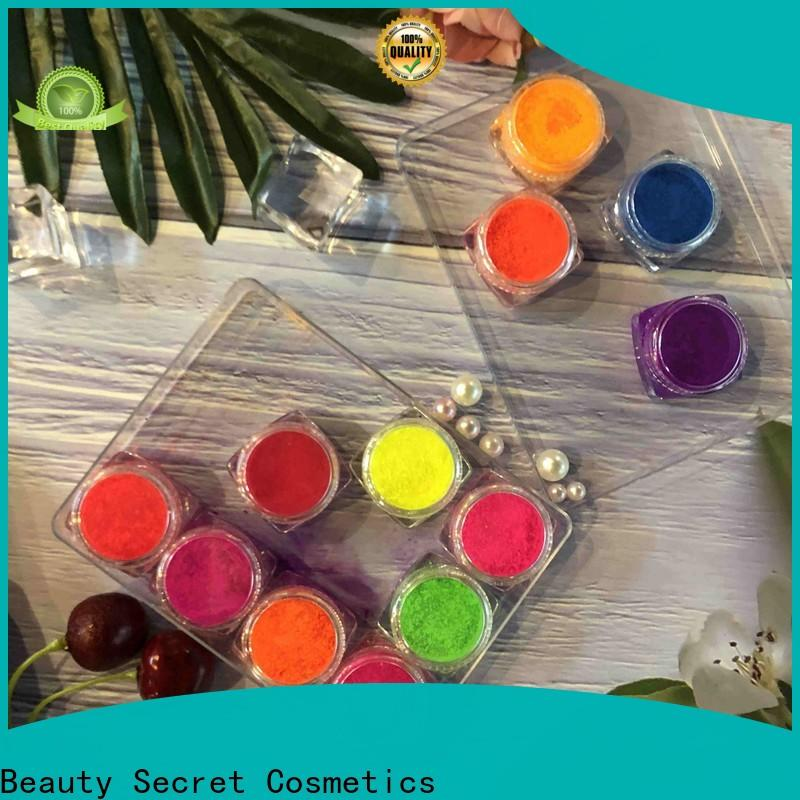 Beauty Secret Cosmetics ashion wholesale eyeshadow with mirror for ladies