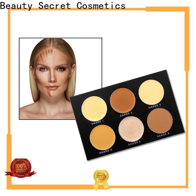 Beauty Secret Cosmetics powder makeup foundation private label for makeup
