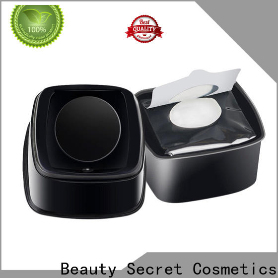 Beauty Secret Cosmetics cotton makeup remover wipe private label for makeup