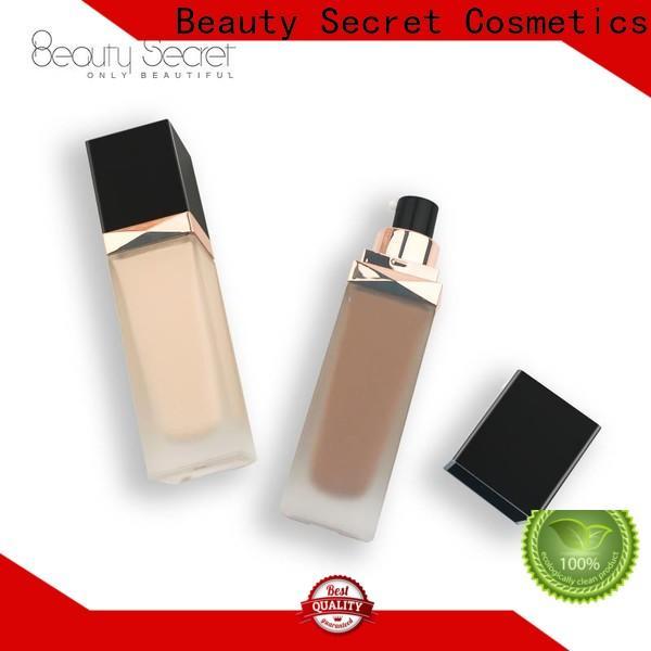 organic makeup foundation with mirror for makeup