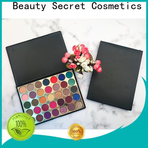diamond bright eyeshadow palette with custom logo for makeup