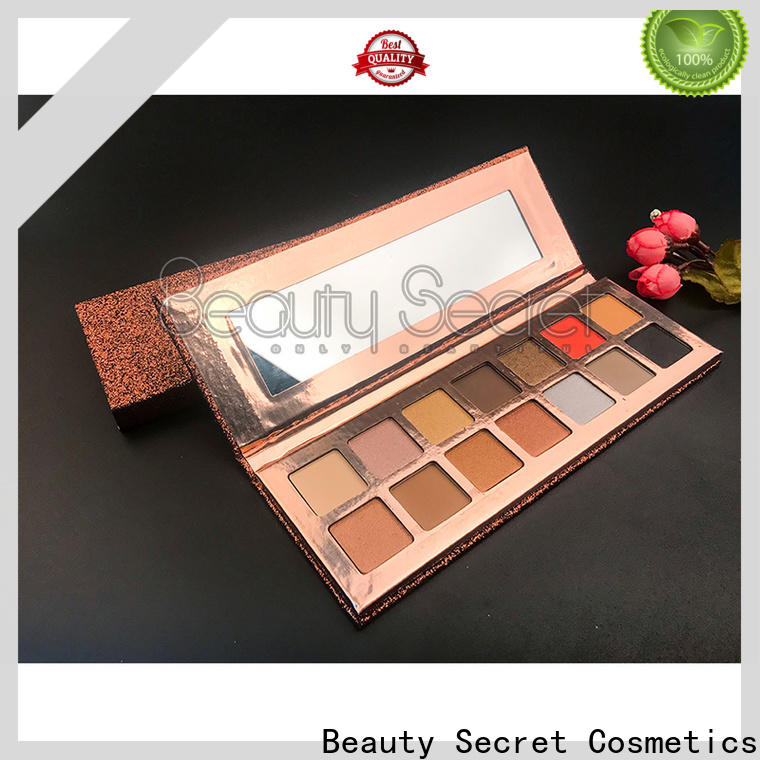 glitter shimmer eyeshadow palette with mirror for sale
