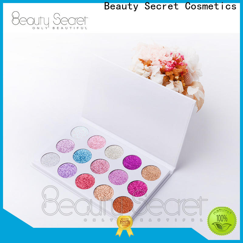 marble bright eyeshadow palette with custom logo fast delivery