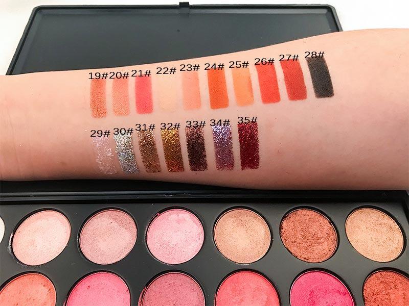 Beauty Secret Cosmetics shimmer eyeshadow palette powder for ladies-3