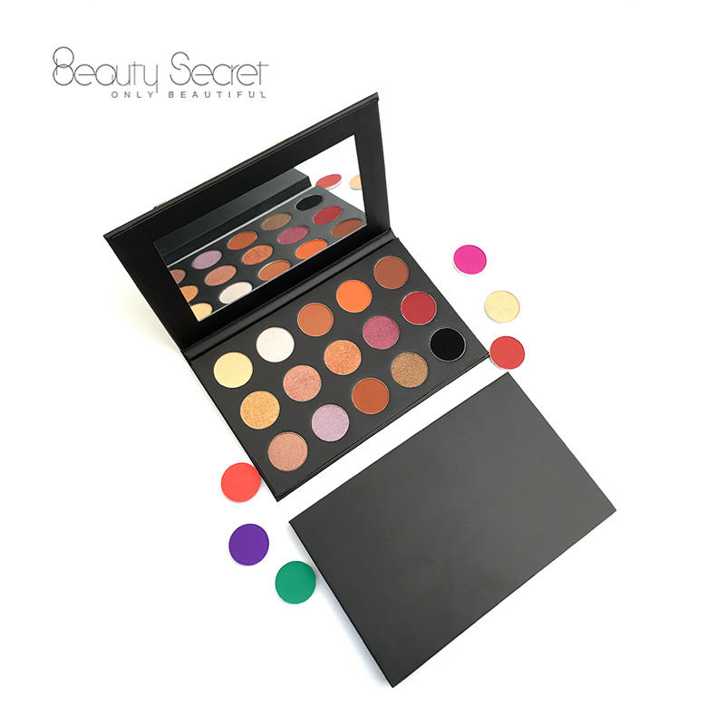 Private label cosmetics makeup eyeshadow palette