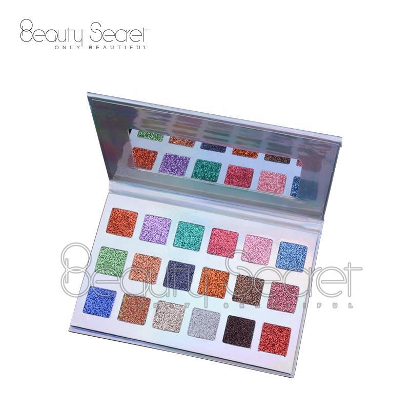 OEM Wholesale New Private Logo Eyeshadow 18 Colors OEM Matte Glitter Eyeshadow