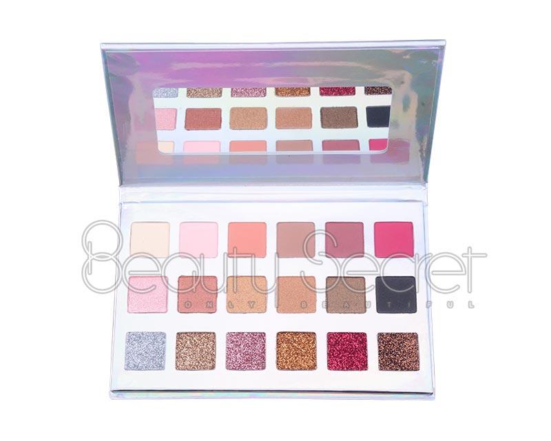 Beauty Secret Cosmetics long lasting shimmer eyeshadow palette powder for sale-6