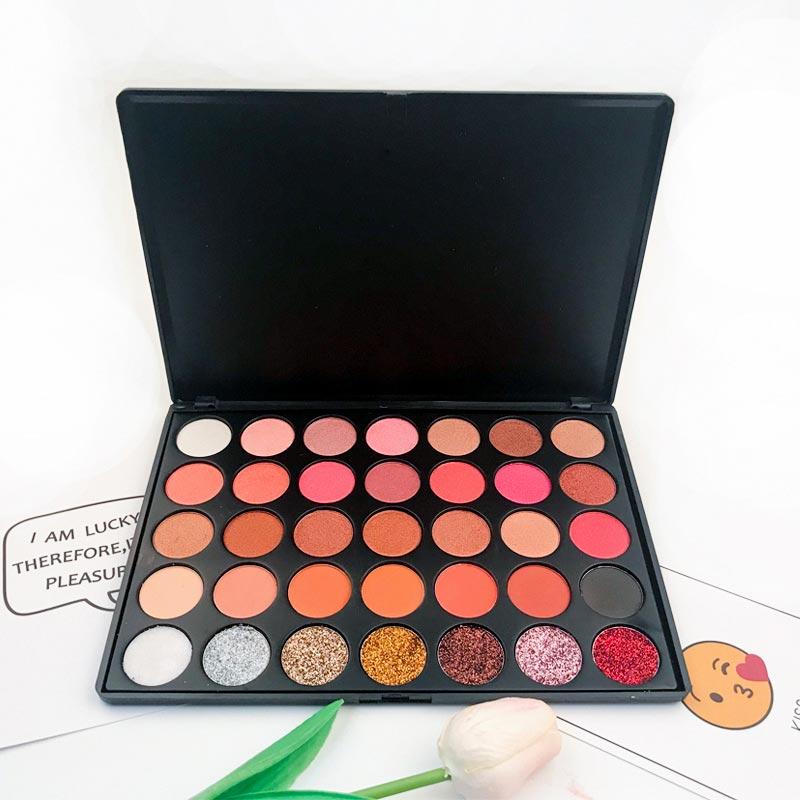 Beauty Secret Cosmetics shimmer eyeshadow palette powder for ladies-4