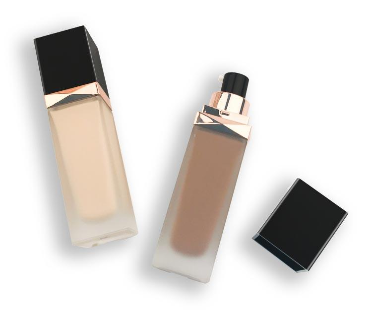 Beauty Secret Cosmetics full coverage foundation cosmetics with mirror for makeup